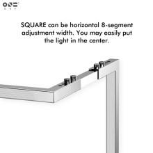 ONF Square Light hanging kit