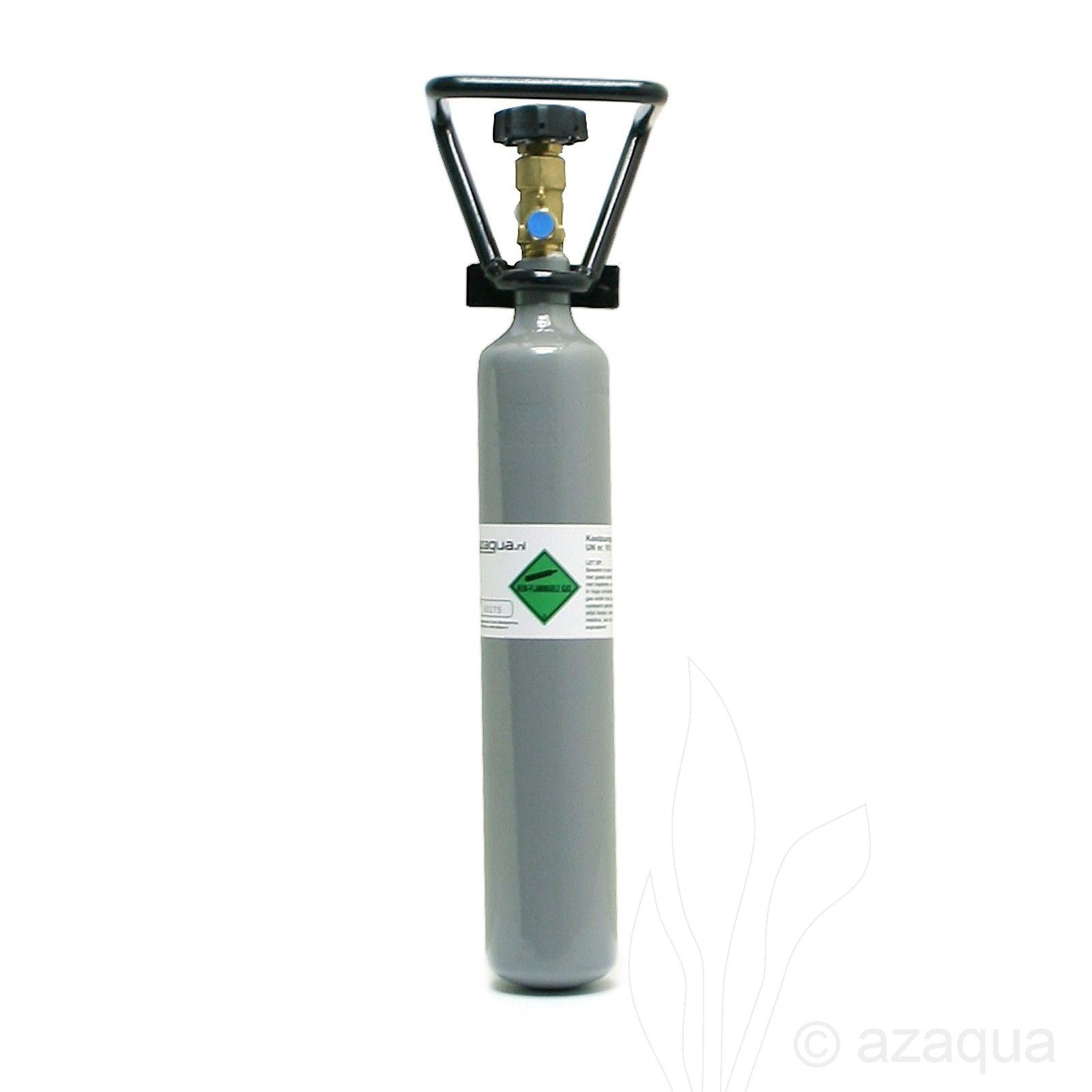 CO2 bottle refilled