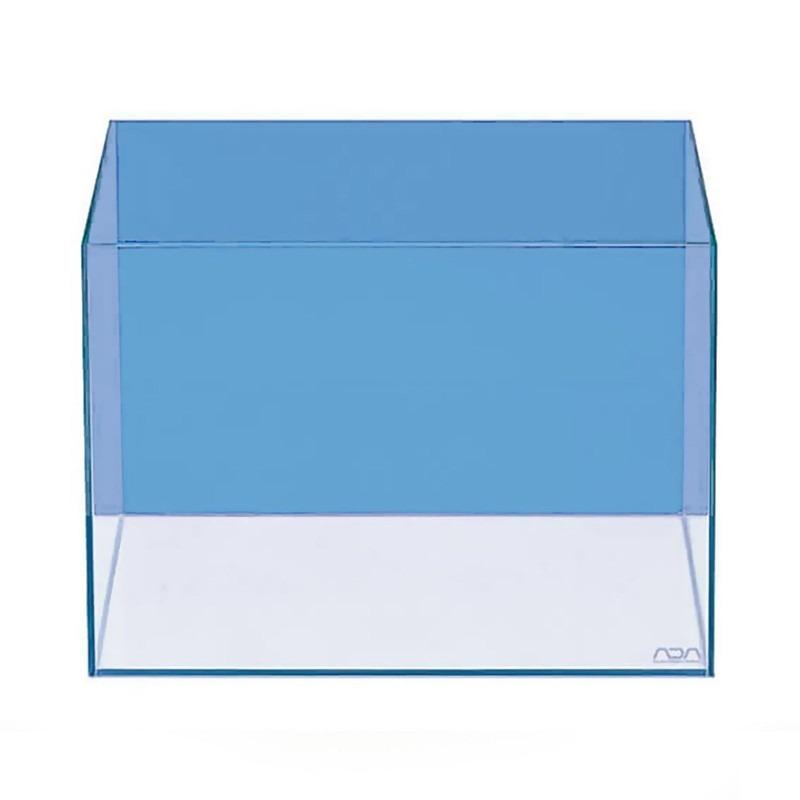 ADA Achterwandfolie Transparant Blauw - achtergrondfolie voor het aquarium