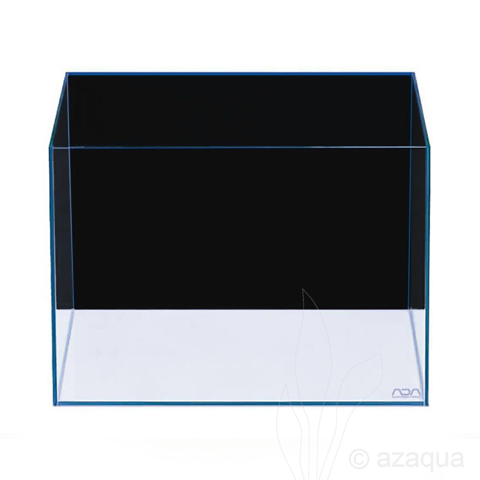 ADA Aqua Screen Achterwandfolie Zwart - achtergrondfolie voor het aquarium