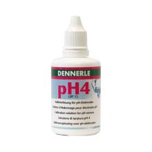 Dennerle IJkvloeistof pH 4 (50ml)