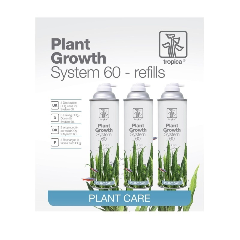 Tropica CO2 System 60 refill (3 pack)