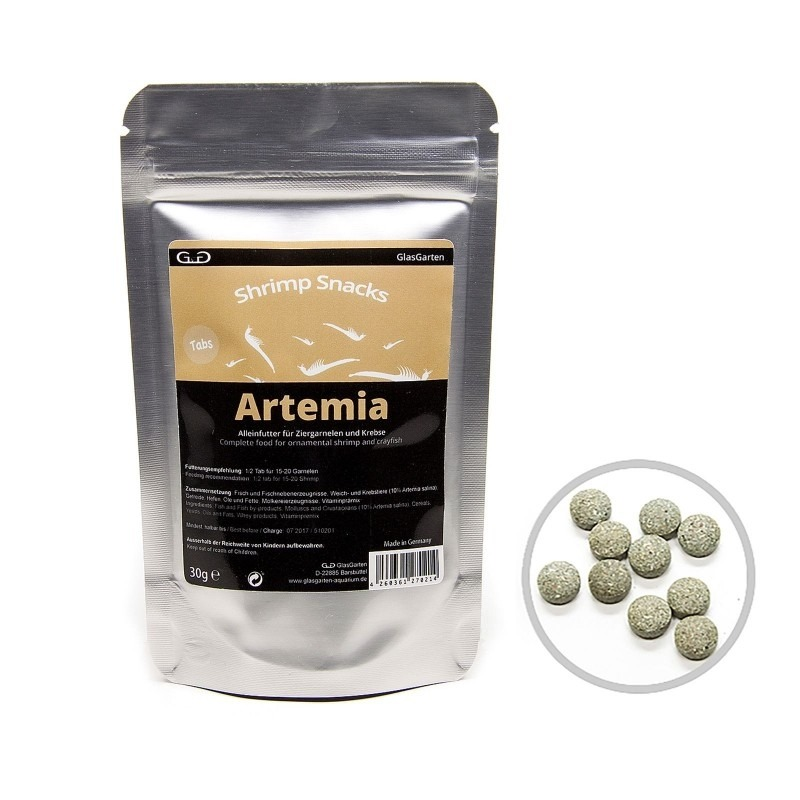 GlasGarten Shrimp Snacks Artemia