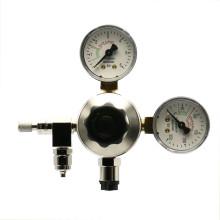 CO2 drukregelaar met dubbele manometer