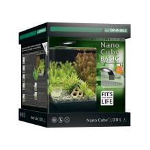 Dennerle NanoCube Basic 20L - complete aquariumset