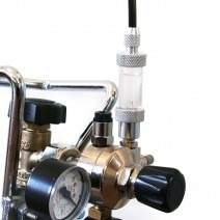 Azaqua CO2 bellenteller METAL