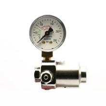 CO2 pressure regulator for bottles