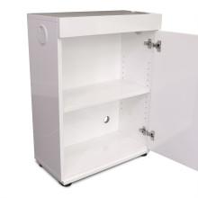 Aquarium cabinet white