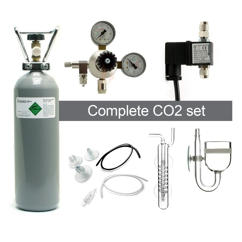 Complete CO2 system - CO2 fertilization to the aquarium