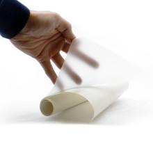 Achterwand folie wit-melk (per 10cm)