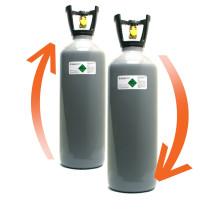 CO2 fles laten vullen (ruilsysteem) 10 kg