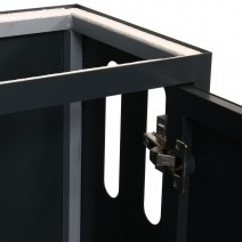ILA aquarium furniture (36x22x80cm) anthracite