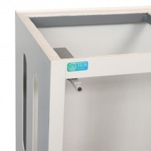 ILA aquarium meubel (60x30x80cm) wit