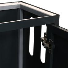 ILA aquarium meubel (90x45x80cm) antraciet