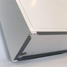 ILA aquarium furniture (120x50x80cm) white