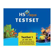 HS Aqua TEST SET 1 pH/NH4/NO2