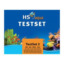 HS aqua TEST SET 2 GH/KH/NO3/PO4