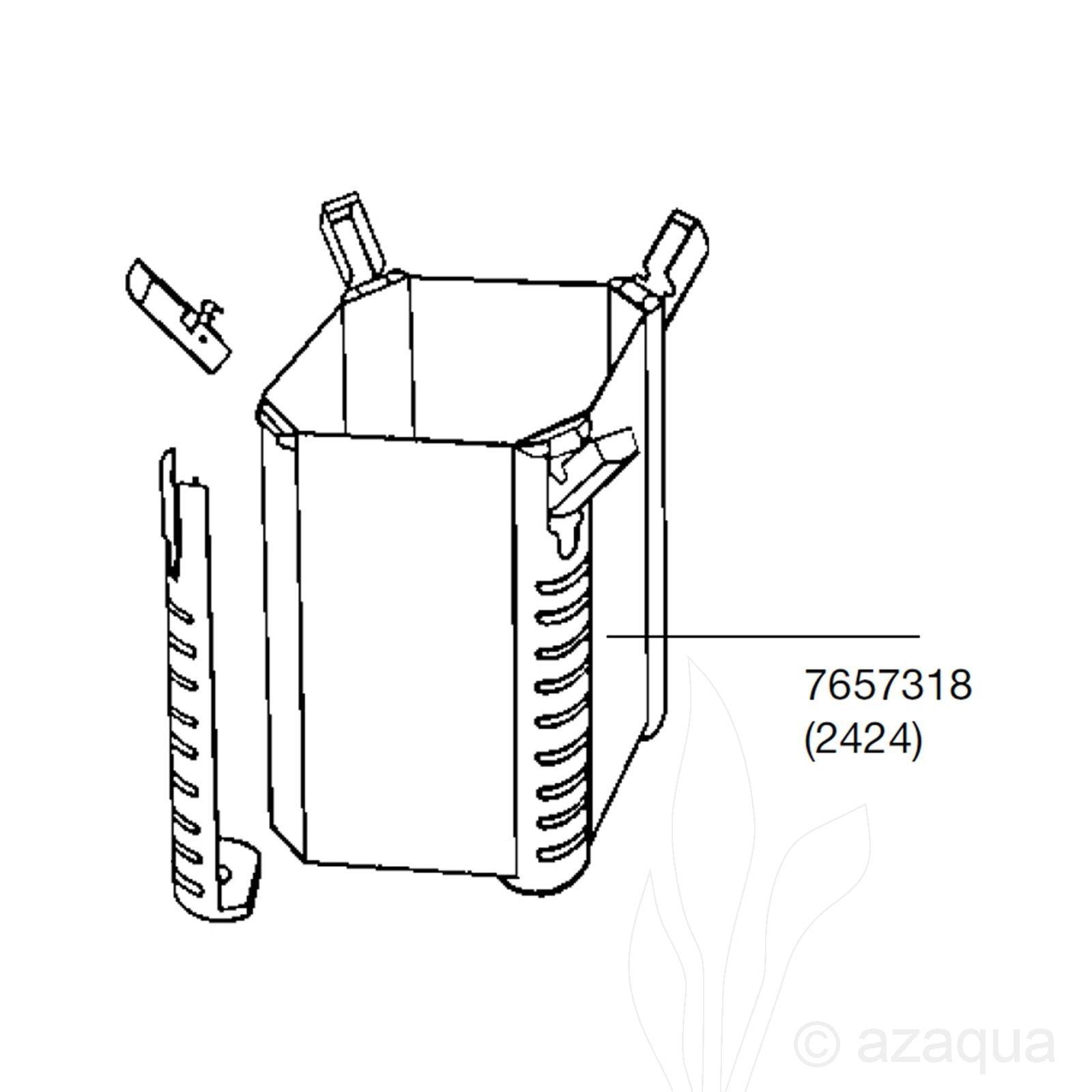 EHEIM Filterpot voor 2224/2424