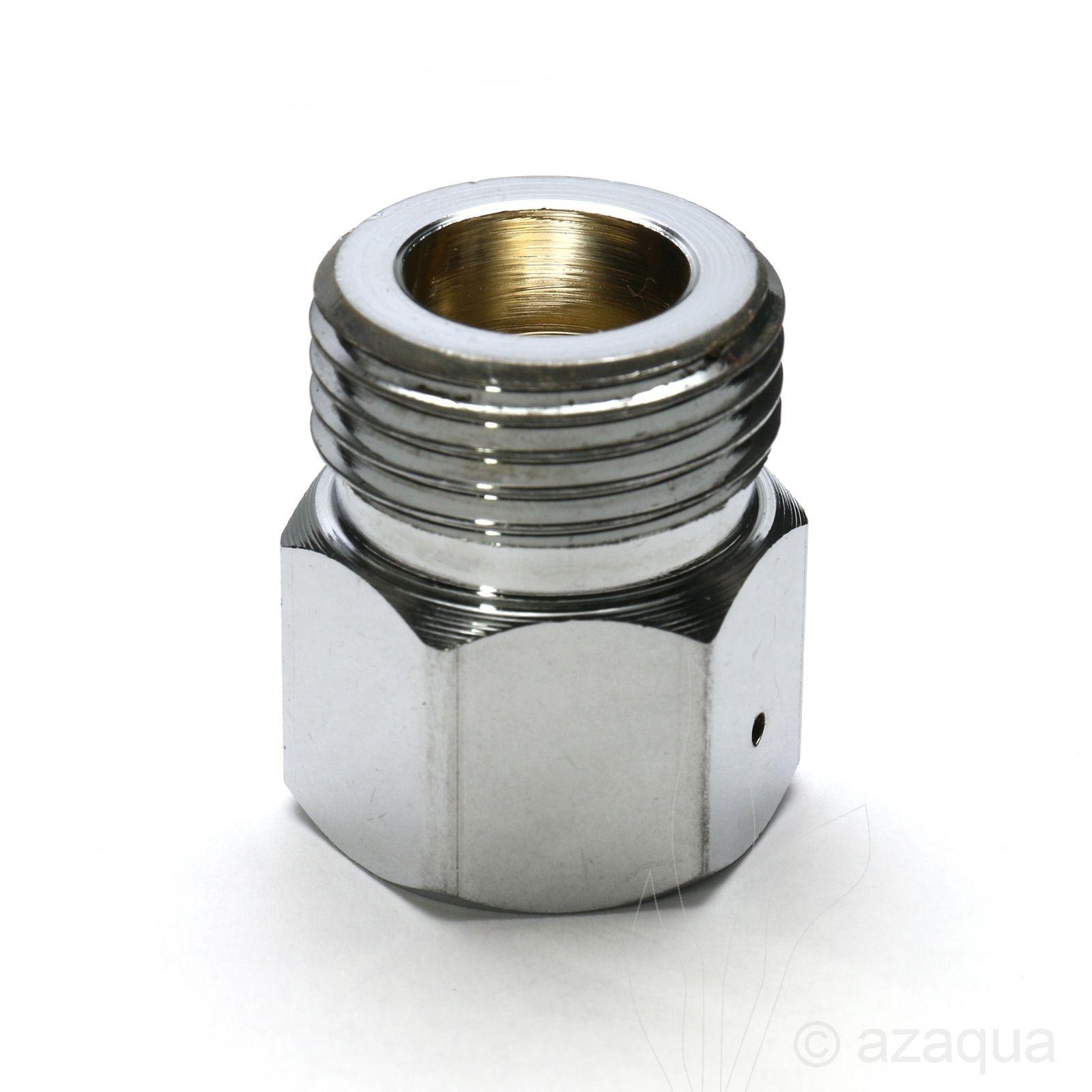 Azaqua CO2 adapter refillable to disposable