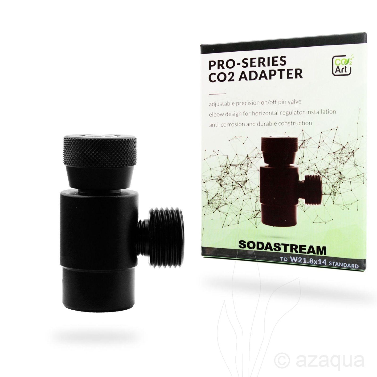 CO2Art Pro-Series CO2 Adapter – Sodastream