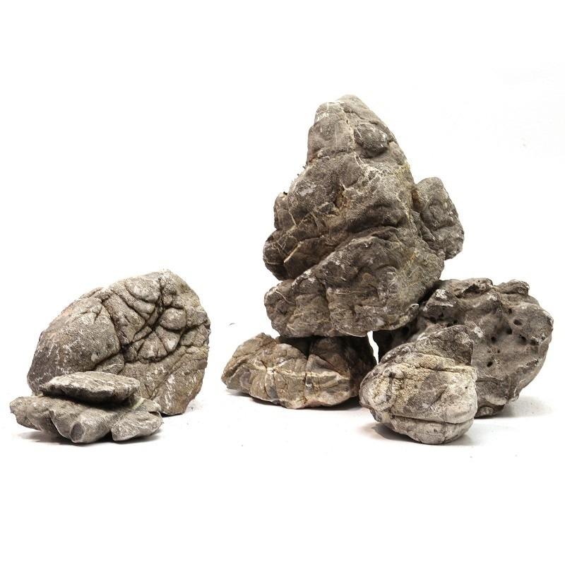 Grey mountain stone