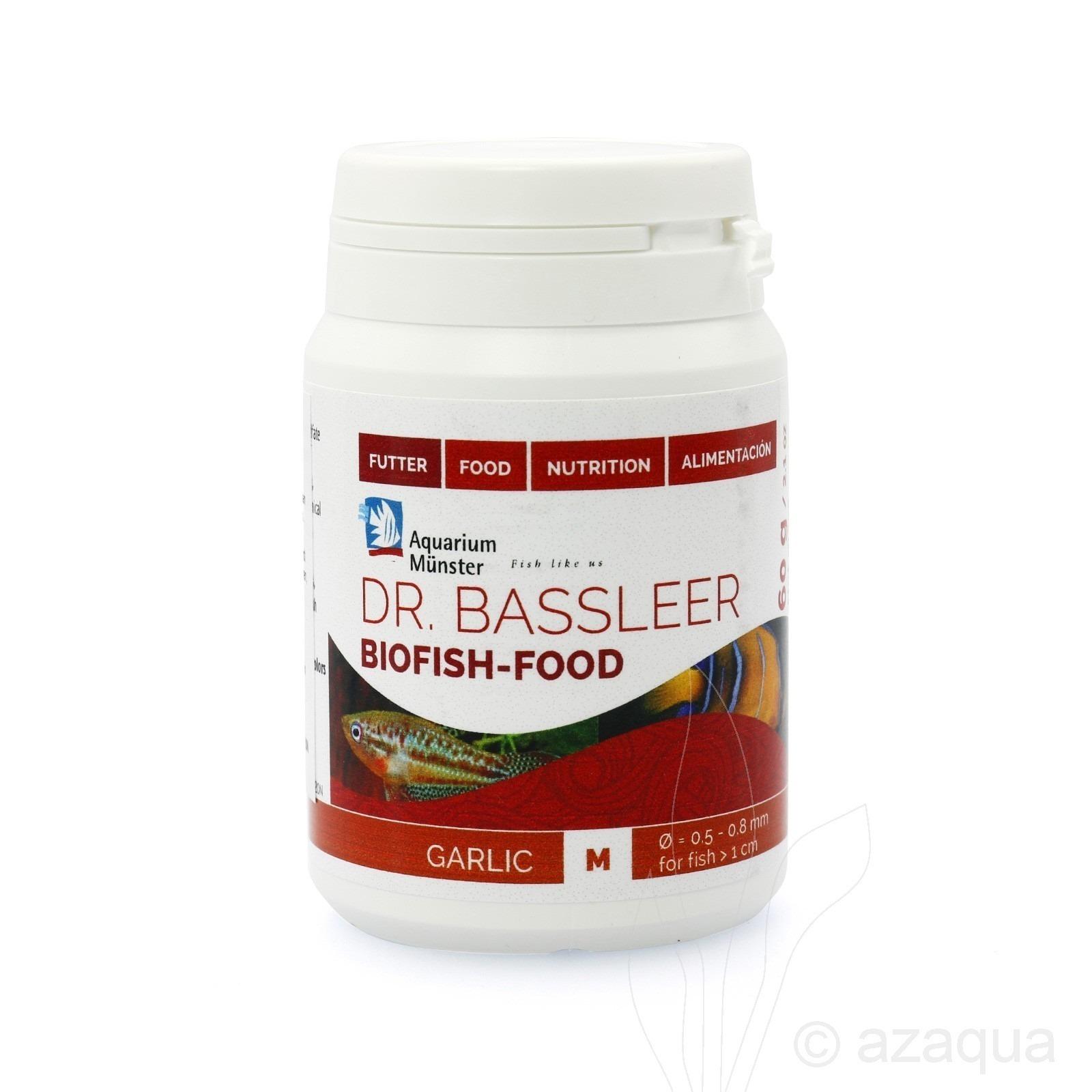 Dr.Bassleer Biofish Food garlic M - 60 grams