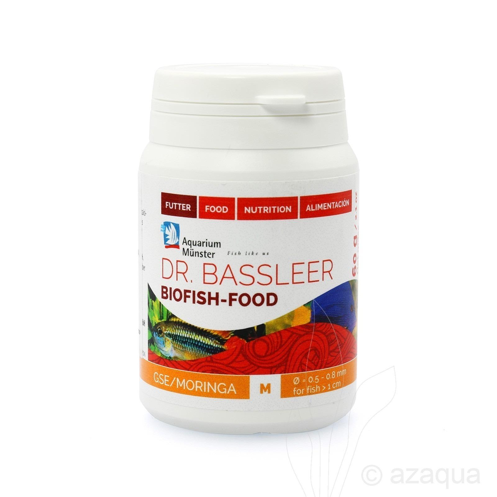 Dr.Bassleer Biofish Food GSE/Moringa M - 60gram