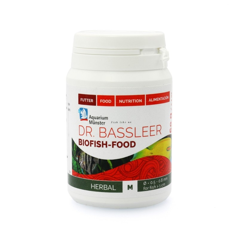 Dr.Bassleer Biofish Food herbal M 60 gram