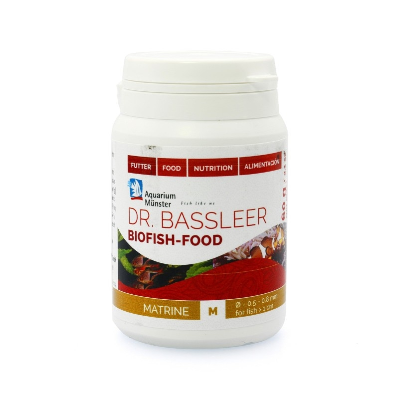Dr.Bassleer Biofish Food matrine M 60 grams