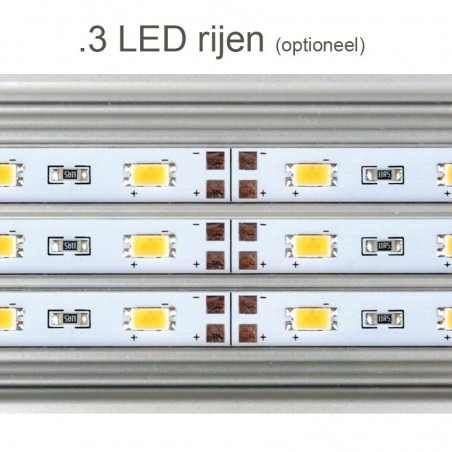 Daytime eco 3 rijen - LED aquarium verlichting