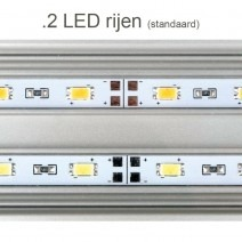 Daytime eco 2 LED rijen (standaard) - LED verlichting aquarium