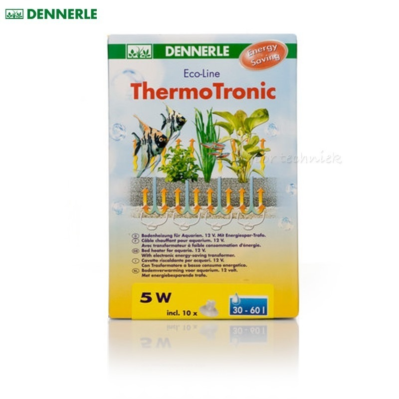 Dennerle Eco-Line ThermoTronic 5W bodemverwarming