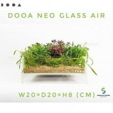 DOOA Neo Glass AIR W20×D20×H8 (cm)