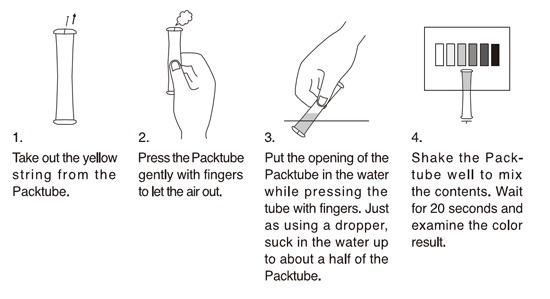 ADA Pack Checker pH test