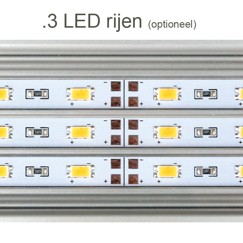 Daytime eco 3 rijen - LED aquarium verlichting
