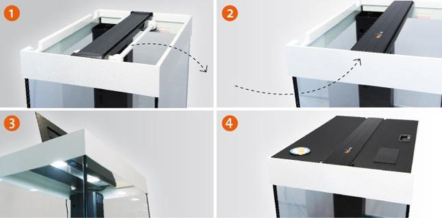 daytime ledverlichitng voor juwel aquarium. Black Bedroom Furniture Sets. Home Design Ideas