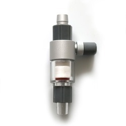 Inline CO2 atomizer