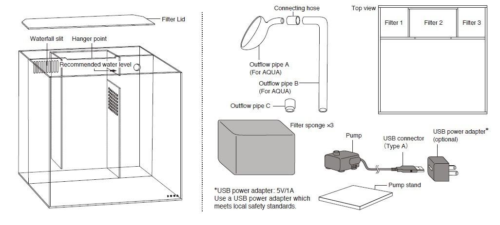 DOOA System aqua 30