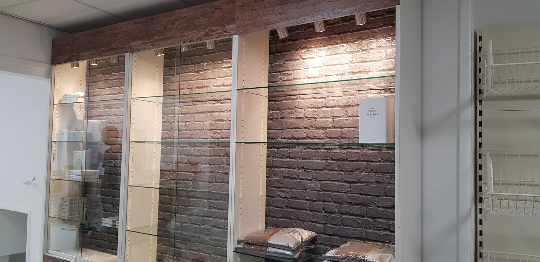 """De """"nieuwe"""" vitrines voor ADA producten"""